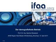 Der demografiefeste Betrieb - Gesellschaft für Organisation eV