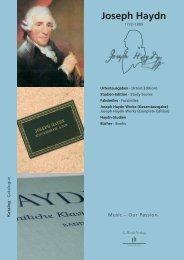 Joseph Haydn Works - Henle Verlag