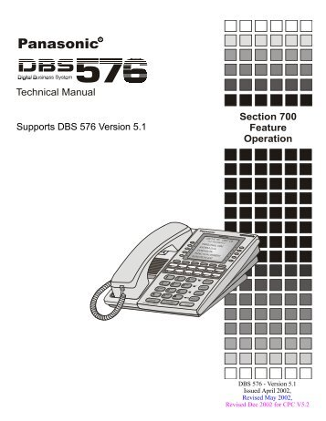 Panasonic dbs/824 to kx-tvs 50 integration.