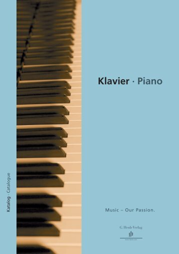 Klavier · Piano - Henle Verlag