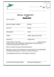 """Meldeformular und Termine: """"Die Optimisten"""" 2011 - Segler-Club ..."""