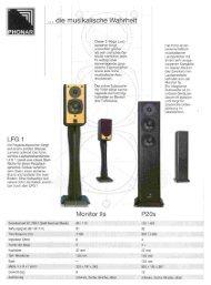 Dieser 2-Wege Laut sprecher klingt wesentlich größer als sein ...
