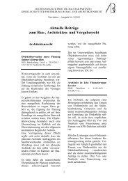 Newsletter Mai 2013 (Nr. 8) - Gesellschaft für Fortbildung | im Bau ...