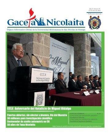 CCLX Aniversario del Natalicio de Miguel Hidalgo - Coordinación ...