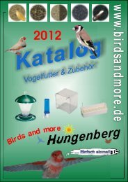 Katalog - Birds and more