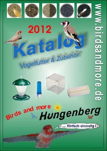 Katalog - Birds and more