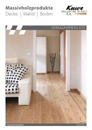 Massivholzprodukte Decke | Wand | Boden - Holz-Shop Walter Frey ...