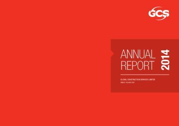 GCS ANNUAL REPORT 2014