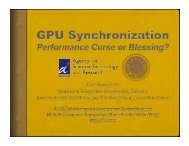 Synchronization on GPUs: Performance Curse or Blessing?