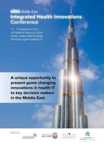 download prospectus - HIMSS Middle East
