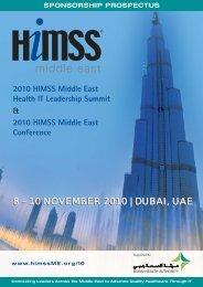 HIMSS ME [Sponsor] Dubai - HIMSS Middle East