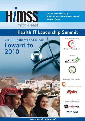 Download the post-conference brochure - HIMSS Middle East