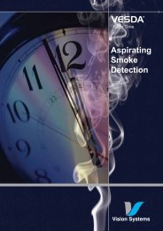 Aspirating Smoke Detection