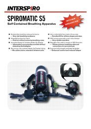 SPIROMATIC S5 Self Contained Breathing ... - Mercfire.com.au