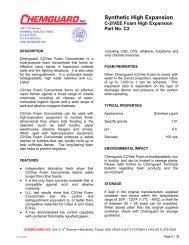 38 C-2 Vee Foam High Expansion (C2) - Mercfire.com.au