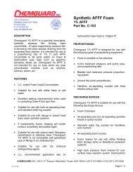 Product Information Sheet - Mercfire.com.au