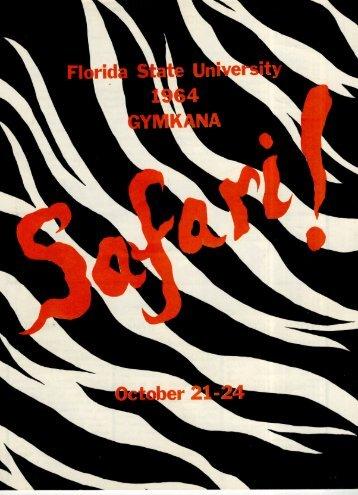 1964 - Safari! - FSU Gymnastics