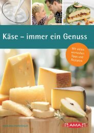 Käse – immer ein Genuss - Webshop - AMA-Marketing