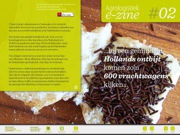 E-Zine #02 - Netwerk Agrologistiek