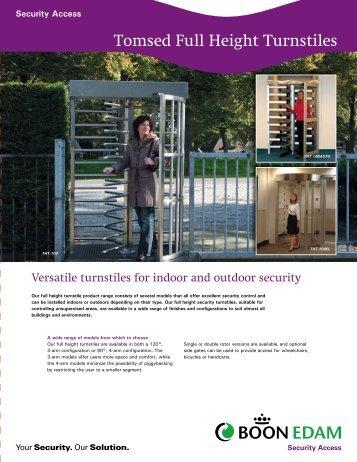 Full Height Turnstile Brochure - Eastern Door Service