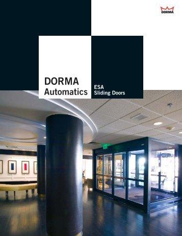 Brochure - Eastern Door Service