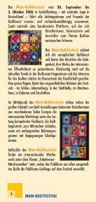 Das einzigartige Main - Main-Quiltfestival - Seite 6