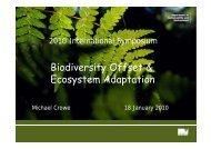 native vegetation credits