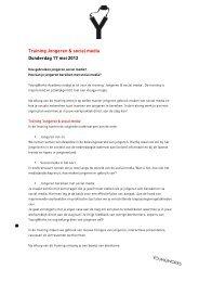 jongeren en social media - YoungWorks Blog