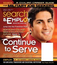 MILITARY JOB SEEKERS - RecruitMilitary