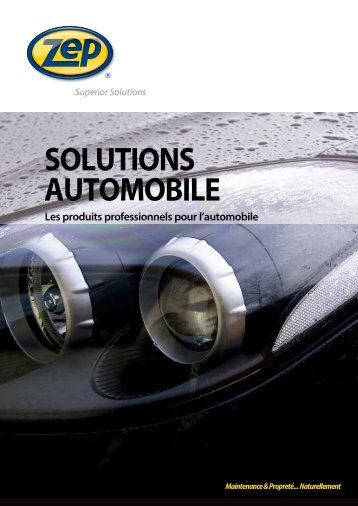 SOLUTIONS AUTOMOBILE - zepindustries.eu