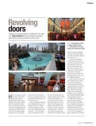 Revolving doors - Upward Curve