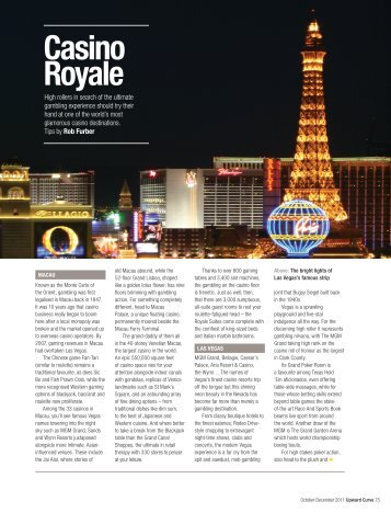 Casino Royale - Upward Curve