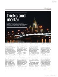 Tricks and mortar - UPWARD CURVE