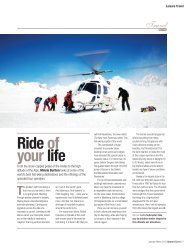 Travelheli-ski Ride of your life - Upward Curve