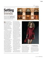 Setting trends - UPWARD CURVE