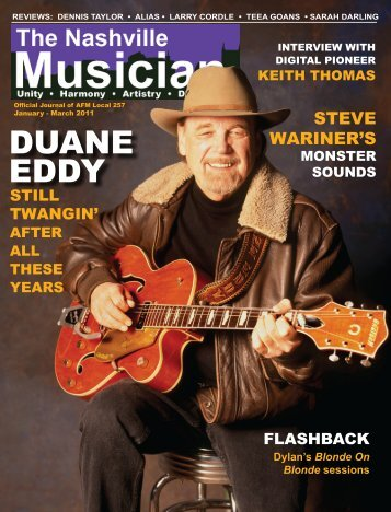 DUANE EDDY - Nashville Musicians Association