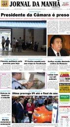 Presidente da Câmara é preso - Jornal da Manhã
