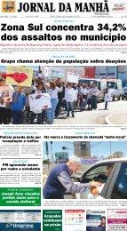 Zona Sul concentra 34,2% dos assaltos no ... - Jornal da Manhã