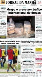 Grupo é preso por tráfico internacional de drogas - Jornal da Manhã