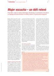 Journal TdH n° 106, p.8-9 - Terre des Hommes Suisse