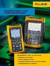 Brochure Fluke serie 120 scopemeters - Brink Techniek