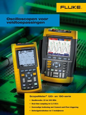 Brochure Fluke serie 120 scopemeters - Brink Techniek