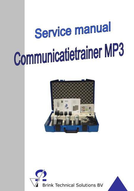 Handleiding communicatietrainer - Brink Techniek