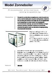 Folder Zonneboiler - Brink Techniek