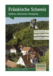 Fränkische Schweiz - Verlagsbeilagen des Nordbayerischen Kurier ...