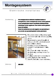 Folder montagestellingen - Brink Techniek