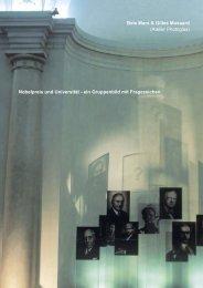 Nobelpreis und Universität - ein Gruppenbild mit ... - photoglas