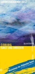 Kunst und Ambiente sommerakademie 2012 Coburg - Stadt Coburg