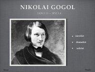 NIKOLAI GOGOL - nocookie.net