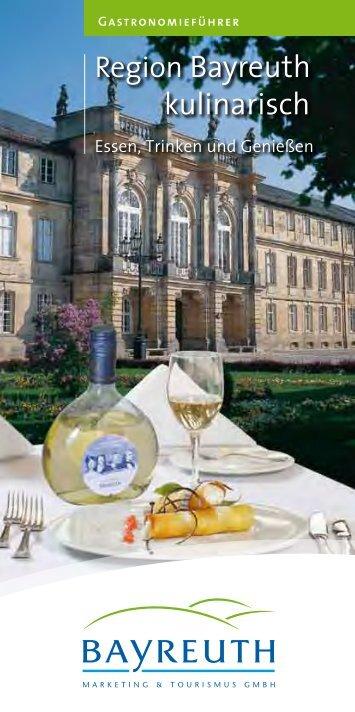Region Bayreuth kulinarisch - Stadt Bayreuth